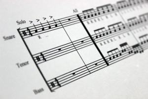 Freelance Composition for Marching Percussion