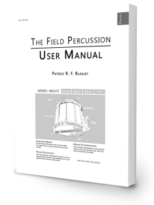 The Field Percussion User Manual for Drumline