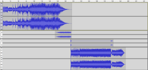 Audio Editing for winterguard and dance ensemble